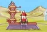 لعبة اطلاق صاروخ الفضاء