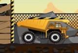 لعبة شاحنة نقل الصخور