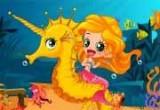 لعبة تلبيس عروسة البحر والحصان