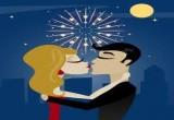 لعبة قبلة السنة الجديدة