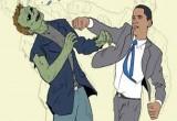 لعبة باراك اوباما والزومبى