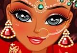 العاب مكياج وتلبيس العروسة الهندية