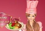 لعبة تلبيس الطباخة الماهرة