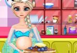 لعبة الطباخة اليسا الحامل