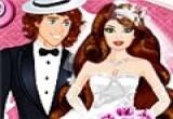 لعبة تلبيس العروسين للزفاف
