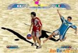 لعبة كرة قدم الشاطئ