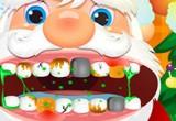 لعبة علاج اسنان سانتا كلوز