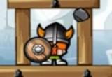 لعب هدم قلعة الفايكنج