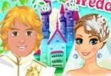 لعبة تلبيس العروسة وزوجها