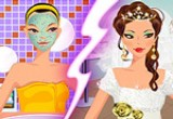 stylish wedding makeover games