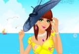 لعبة تلبيس ملابس الصيف