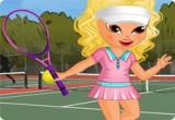 العاب تلبيس بنات ملابس التنس