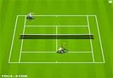 لعبة تنس ارضي