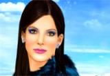 لعبة مكياج الممثلة ساندرا بولوك