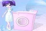 لعبة غسيل الملابس