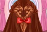 لعبة تسريح الشعر الطويل