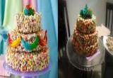 طبخ كعكة زفاف كول