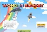 لعبة الصاروخ الفضائي