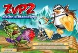 لعبة البطريق ضد الزومبي